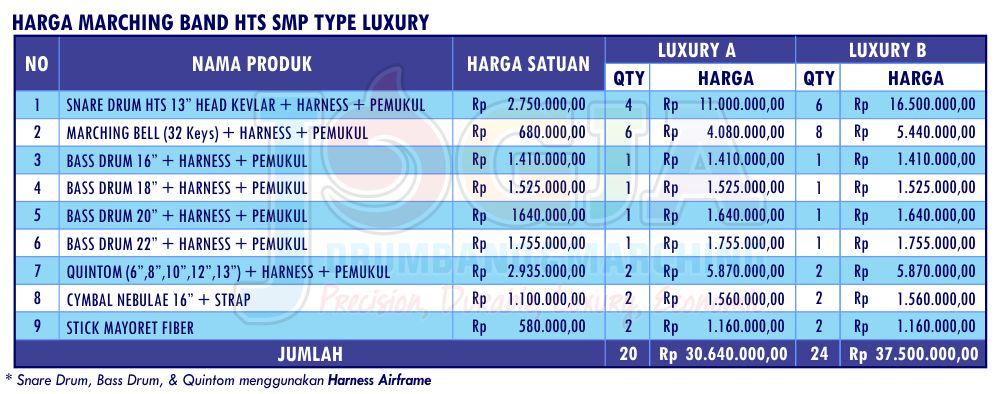 Harga JD HTS SMP Luxury 1