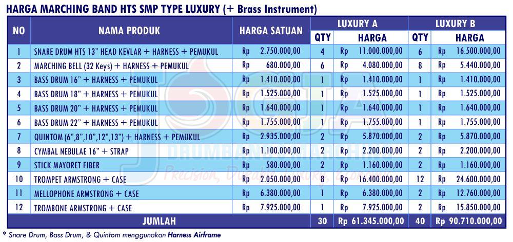 Harga JD HTS SMP Luxury 2