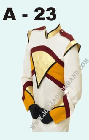 baju marchingband