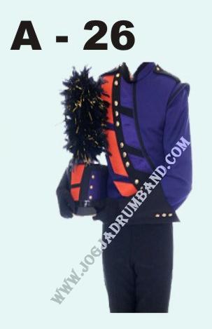 kostum marchingband