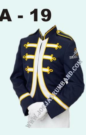 model seragam marchingband