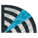 design bendera color guard warna warni